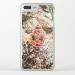 Something's Fishy Clear iPhone Case