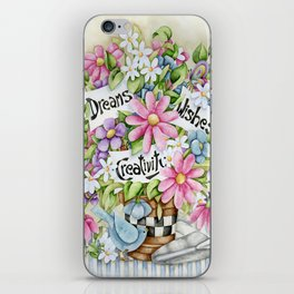 Dreams Wishes And Creativity iPhone Skin