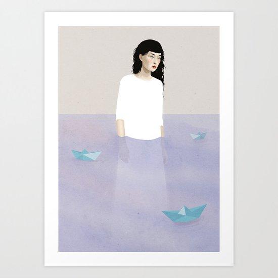 "My space ""Still"" Art Print"