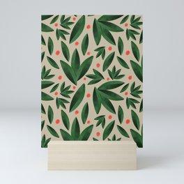 Leaves and Berries Mini Art Print
