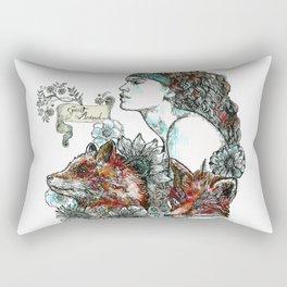 Red Fox. Rectangular Pillow