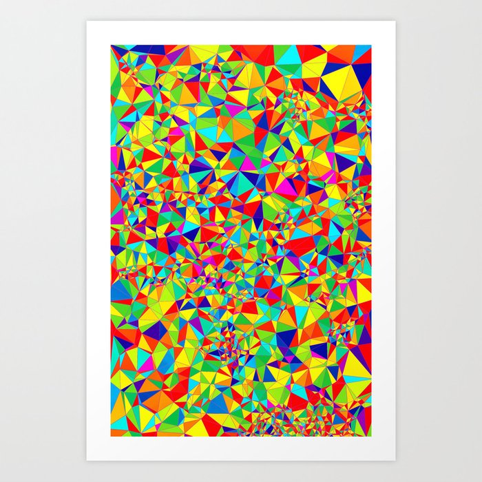 Abstract Pattern XIV Art Print