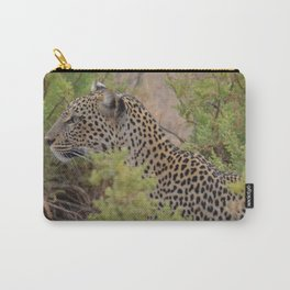 Leopard in the Wild Carry-All Pouch