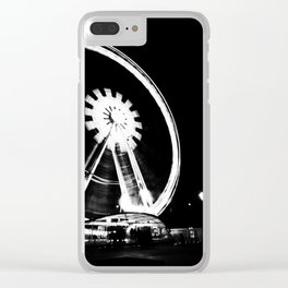 Spinning the Wheel. Clear iPhone Case