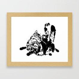 Catrider 2 Framed Art Print