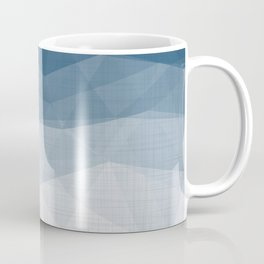 Imperial Topaz - Geometric Triangles Minimalism Coffee Mug