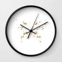 Butterfly 146 Wall Clock