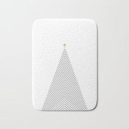Minimal Christmas Tree #society6 #decor #buyart Bath Mat