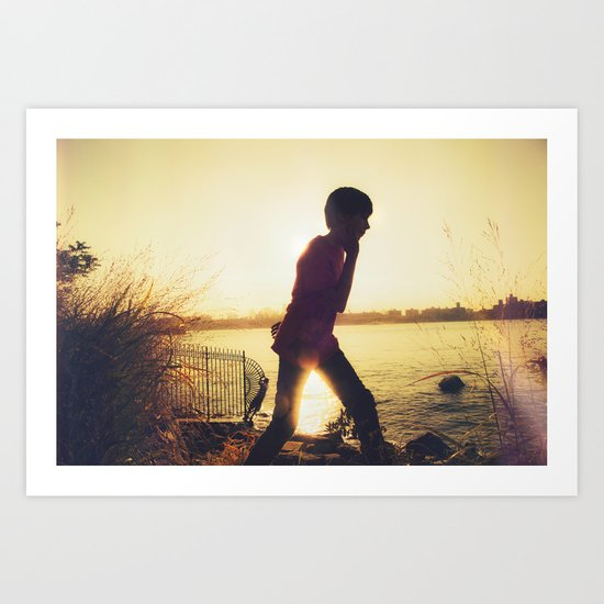 When You Were Young Art Print