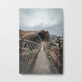 Carrick-a-Rede Metal Print