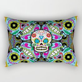 Sugar Skulls Rectangular Pillow