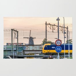 Sunrise Commute Rug