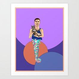 Crystal Mec Art Print