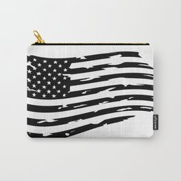 USA Flag, American flag - Distressed american flag, USA flags. Clip art, Art Print Carry-All Pouch