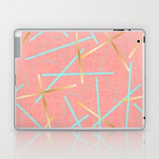 Golden Flamingo Laptop & iPad Skin