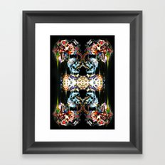 Golden Death Framed Art Print