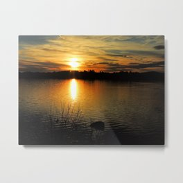 Thanksgiving Sky Metal Print