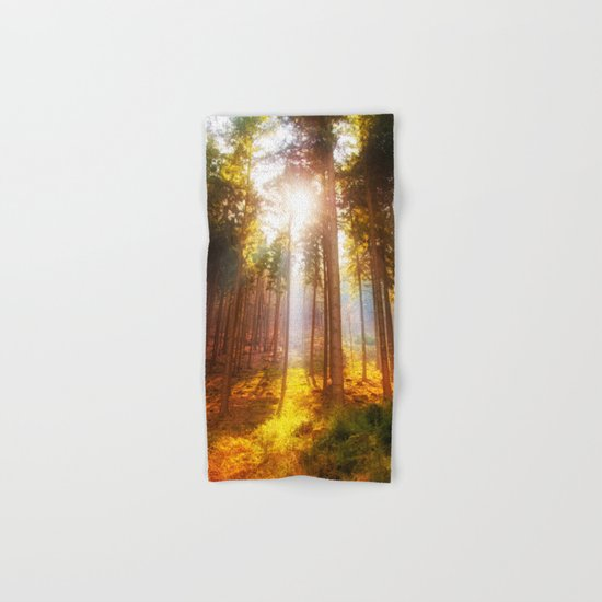 Sunshine forest Hand & Bath Towel