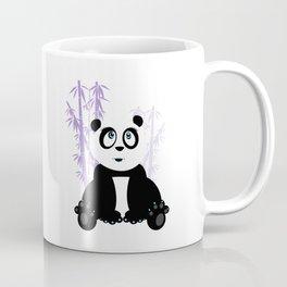 Panda Girl - Purple Coffee Mug