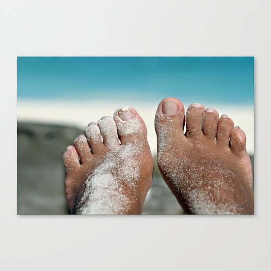 Happiness is so cliché Canvas Print