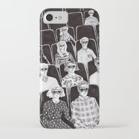 movies iPhone & iPod Cases featuring The movies by Margarida Esteves