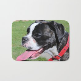 Boston Terrier Pet Dog Bath Mat