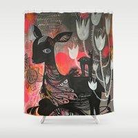 Killer Tulips Shower Curtain