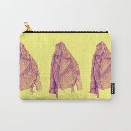 Leather Jacket (Amber) Carry-All Pouch