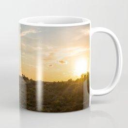 Ocaso en la marisma Coffee Mug