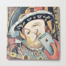 Tudor selfie Metal Print