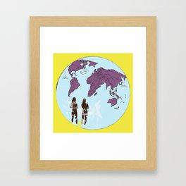 Seaworld Framed Art Print