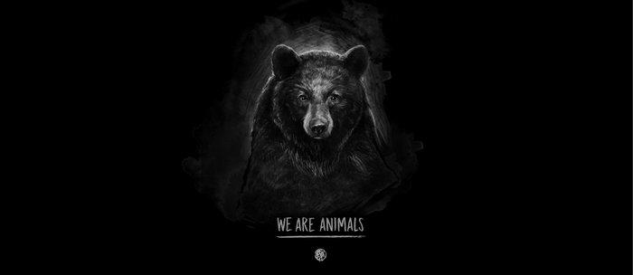 We Are Animals Coffee Mug