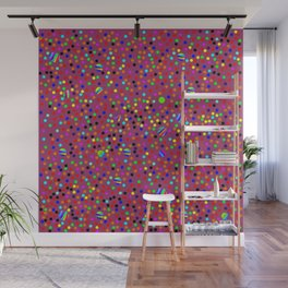 Colorful Rain 13 Wall Mural