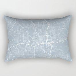 Winston-Salem Map, USA - Slate Rectangular Pillow