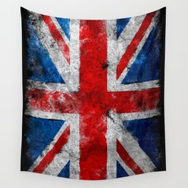 Great Britain grunge flag Wall Tapestry