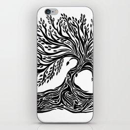 Roots and Leaves iPhone Skin