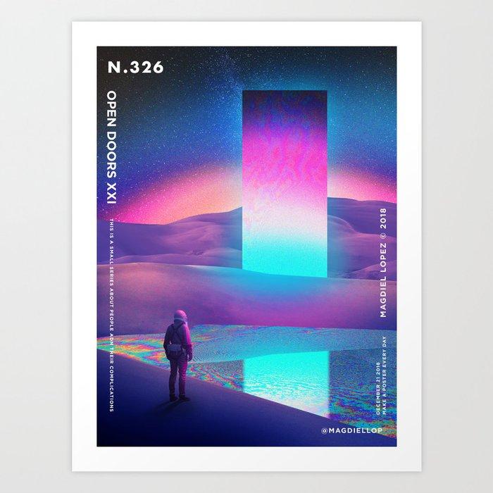 Astronaut's Dream Kunstdrucke