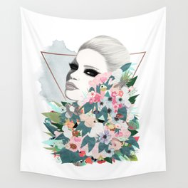 Flower Wall Wall Tapestry