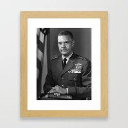 General Benjamin O. Davis Jr. - An Aviation Pioneer Framed Art Print