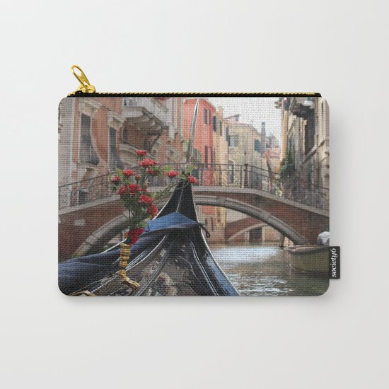 Italy Venice Gondola Carry-All Pouch