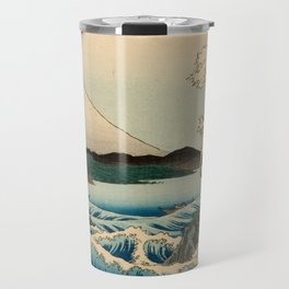 The Sea at Satta, Suruga Province Travel Mug