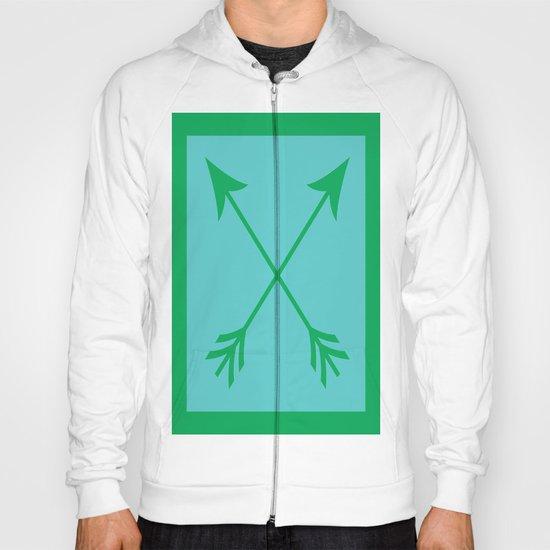 Crossed Arrows Hoody