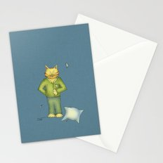 You are the cat's pajamas - blue Stationery Cards