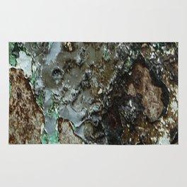 Weathered Iron rustic decor Rug