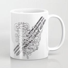 Heart Slicing Coffee Mug