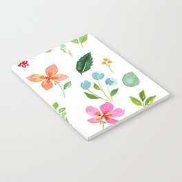 All Things Bright - White Notebook