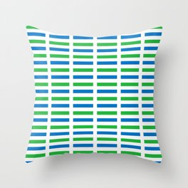 Flag of sierra leone-salone,Sierra Leonean,Leone,Sierra Leona,freetown. Throw Pillow