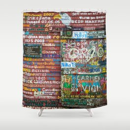Anderson's Dock Shower Curtain