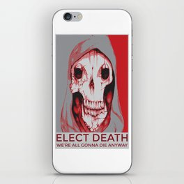 Third Party Candidate iPhone Skin