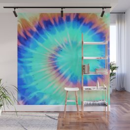 Electric Neon 90s Print Wall Mural
